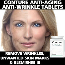 CONTURE ANTI AGING PILLS TABLETS ANTI WRINKLE ANTI BLEMISH REMOVE AGE SPOTS