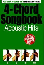 4-Chord Songbook Acoustic Hits Learn to Play Pop Guitar Music Book SONGS Beatles