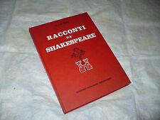 C. E M. LAMB RACCONTI DA SHAKESPEARE 1a EDIZ.1960 CARROCCIO ARCOBALENO ACCORNERO