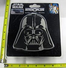 STAR WARS DARTH VADER HITCH COVER PLUG SOLID METAL TRUCK TRAILER NEW L902