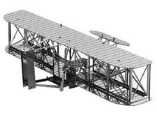 Wright Brothers Airplane: Metal Earth 3D Laser Cut Miniature Model Kit