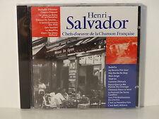 CD ALBUM Chefs d oeuvre de la chanson francaise HENRI SALVADOR CF 003  NEUF