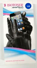 Isotoner Women's Smartouch Leather Gloves Lg, NIB!