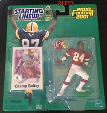 CHAMP BAILEY 2000-2001 STARTING LINEUP FOOTBALL UNOPENED UNOPENED FIGURE