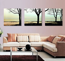 HD Canvas Print home decor wall art painting Picture- tree 3PC #112