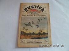 RUSTICA N°7 14/2/1932 CANARDS SAUVAGES OIE BLANCHE DU POITOU LE BOULONNAIS    H6