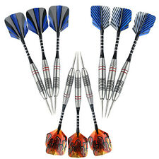 9 PCS(3sets) of Steel Tip Darts Stainless Barrel with Aluminium Alu Shafts Stem