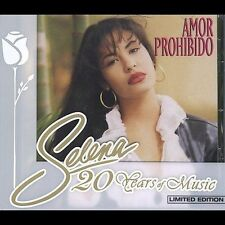 Amor Prohibido [Remaster] by Selena (CD, Sep-2002, EMI Music Distribution) NEW
