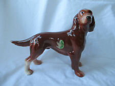 Attractive MELBA WARE - England Porcelain Red Setter Dog Figurine