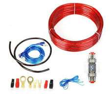 1500w 8GA Car Audio AMP Power Cable Subwoofer Amplifier Wiring With AGU FUSE