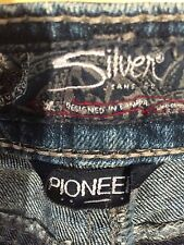 Silver Pioneer jean w25 l 33 waist 28 in. inseam 33 in. rise 7 in. boot stretch