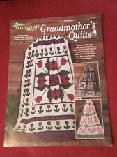 Grandmother's Quilts by The Needlecraft Shop: 6 Crochet Patterns, Afghans 971015