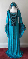 New Renaissance Medieval Princess / Queen /Maid Marion Fancy dress Costume 12