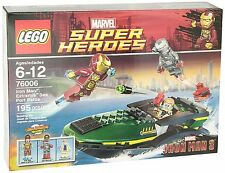 LEGO Super Heroes Iron Man Extremis Sea Port Battle 76006 - LegoOriginals