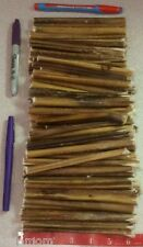 """50 - 5-6"""" *USA MADE* Thin Beef Bully STICKS Dog Treat Chew Natural Pizzle Steer"""