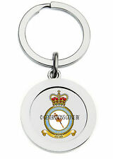 ROYAL AIR FORCE QUEEN'S COLOUR SQUADRON KEY RING (METAL)