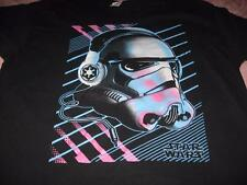 Star Wars Neon Storm Trooper With Headphones  Adult X X Large T-Shirt