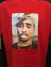 Tupac 2 Pac Above The Rim Promo Shirt Sz XL Gangster Rap Hip Hop Thug Deathrow