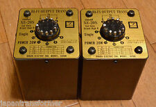 Pair of HIRATA Tango XE-20S OPT transformer using cut core same as X series
