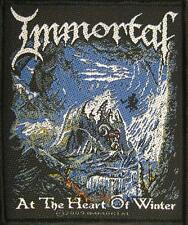 "IMMORTAL AUFNÄHER / PATCH # 8 ""AT THE HEART OF WINTER"""