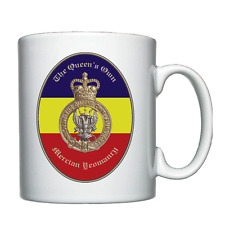 The Queen's Own Mercian Yeomanry - Personalised Mug