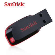 SanDisk 8GB Cruzer Blade USB Flash Pen Drive Memory Stick New UK