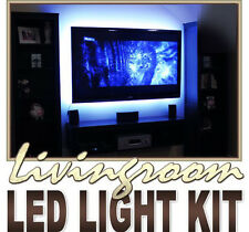 2x40 + 2X90cm 5050 RGB LED MOOD Lighting idee TV Retroilluminazione 16 colori mutevoli