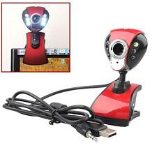 USB 50 Mega 6 LED HD Webcam Camera Web Cam with MIC for Computer PC Laptop A  TR
