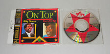 Single CD Billy Ocean Percy Sledge - On Top 1988 4 Tracks  sehr gut MCD SO 19