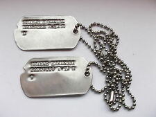 2ww usa dog tags identity discs ARTHUR RAVIELLI    32361888
