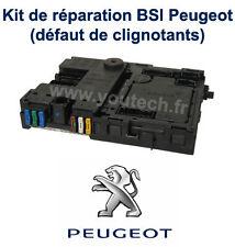 Kit réparation boitier BSI Peugeot 206 probléme clignotants + Notice