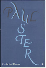 Collected Poems - Signed by Paul Auster - First U.K. Edition