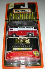 Houston Auxiliary Power Truck 1998 Matchbox Premiere Fire Collection Limited Ed
