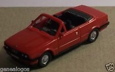 MICRO WIKING HO 1/87 BMW 325 I CABRIOLET ROUGE 2