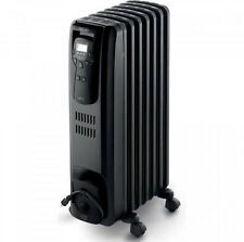 DeLonghi Oil Filled Radiator Heater, EW7507EBL, Black; New, Free Shipping!!!