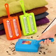 Handheld Carpet Table Sweeper Crumb Dirt Fur Brush Cleaner Collector Roller