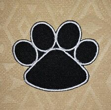 Black Bear's Paw Iron-on/ Sew-on Embroidered Patch / Badge/ Logo