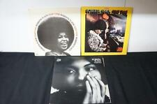 3 LPs by ROBERTA FLACK First Take SD8230, Quiet Fire SD1594, Chapter Two SD156