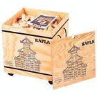 Kapla 1000 Holzbausteine 1000 Stück in Holzkasten mit Rädern NEU, OVP