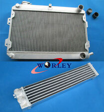 3 ROW ALUMINUM RADIATOR + OIL COOLER FOR MAZDA RX7 S1 S2 S3 SERIES 1 2 3 RX-7