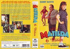 MATILDA 6 MITICA (1996) VHS ORIGINALE 1ª EDIZIONE 1997