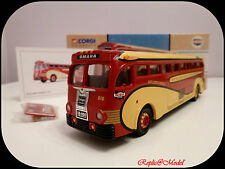 █▓▒░ ★ 1/50 BUS YELLOW COACH 743 BURLINGTON TRAILWAYS CORGI N° 98464 ★░▒▓█