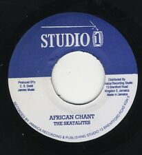 "Skatalites / Winston & Jerry ‎– African Chant JA 7"" STUDIO ONE NEAR MINT"