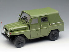 NEW 1/18 Diecast Chinese Beijing Jeep BJ212 open close car model Military green