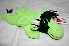 BEAN PETS - pellet stuffed - GREEN w/Black COW - Ages 3 & up Boy, Girl