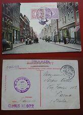 CARTOLINA CARTE POSTALE POSTCARD  1911 GOUDSCHE WEG. ROTTERDAM HOLLAND
