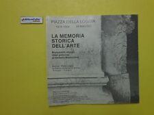 J 5327 CATALOGO LA MEMORIA STORICA DELL'ARTE A CURA DI FLORIANO DE SANTI