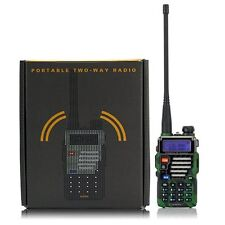 Police 2 Way Radio Scanner digital Handheld Dual Band Antenna HAM Fire Military