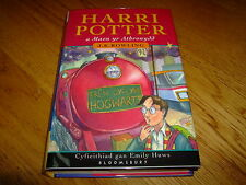 J K ROWLING-THE PHILOSOPHERS STONE-1ST WELSH ED-SIGNED BY TRANSLATOR-NF-HB-RARE