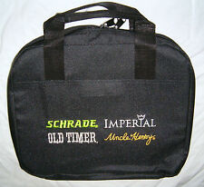 IMPERIAL SCHRADE SALESMAN'S COLLECTOR CARRY KNIFE CASE *HOLDS 28 POCKET KNIVES